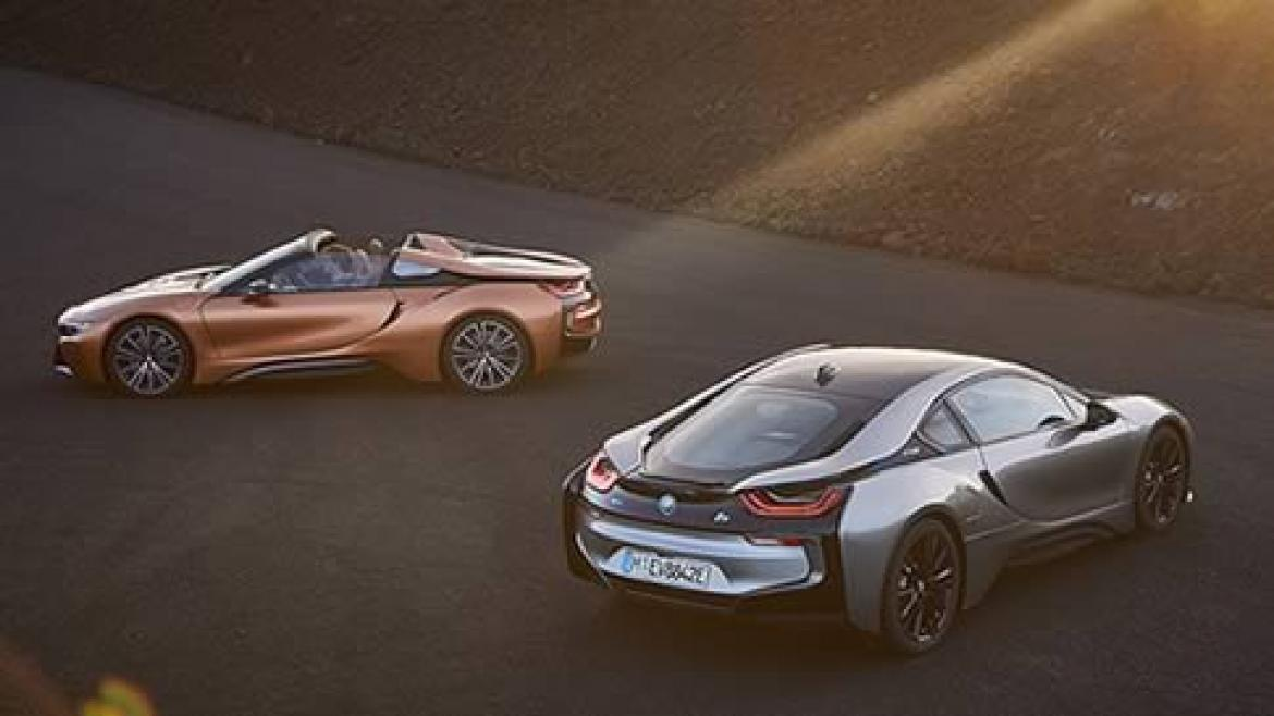New BMW i8 Coupè / Roadster
